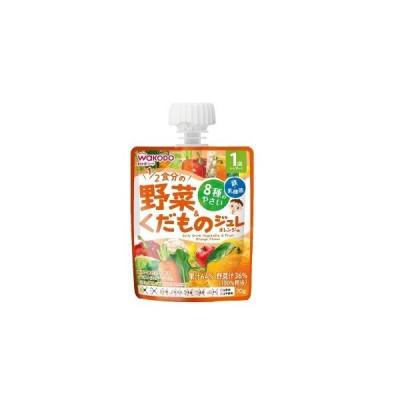1歳からのMYジュレドリンク1/2食分の野菜&くだもの オレンジ味 70g アサヒ 和光堂【RH】