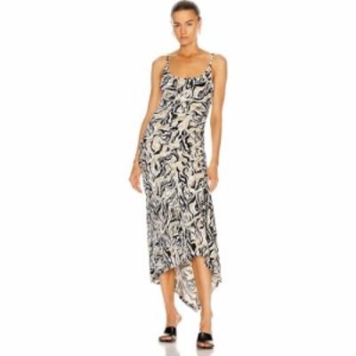 パコラバンヌ PACO RABANNE レディース ワンピース レースアップ ワンピース・ドレス side lace up dress Gold/ Black/White