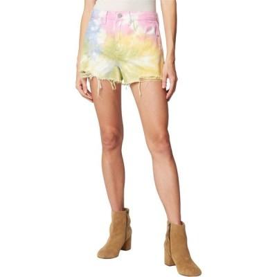 ブランクニューヨーク Blank NYC レディース ショートパンツ ボトムス・パンツ The Barrow Hi Rise Tie-Dye Shorts Wonder Wheel