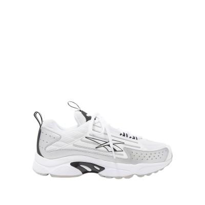 リーボック REEBOK スニーカー&テニスシューズ(ローカット) ホワイト 5.5 紡績繊維 スニーカー&テニスシューズ(ローカット)