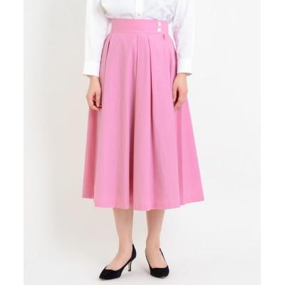 LA MARINE FRANCAISE / CSブロード/CNストライプ タックフレアスカート WOMEN スカート > スカート