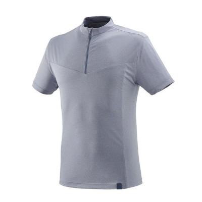 MILLET(ミレー) イゼーオ ハーフジップ Tシャツ ショートスリーブ メンズ MIV8409-8764