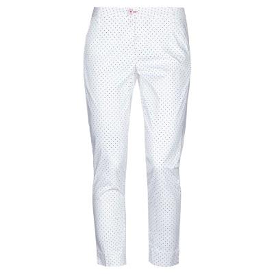BARONIO パンツ ホワイト 25 コットン 97% / ポリウレタン 3% パンツ
