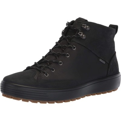 [エコー] スニーカー Mens Soft 7 TRED GTX High BLACK/BLACK 28 cm 3E