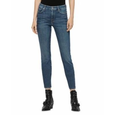 オールセインツ レディース デニムパンツ ボトムス Grace Skinny Jeans in Vintage Indigo Blue Vintage Indigo Blue