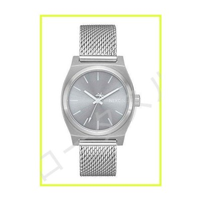 NIXON Women's Watch with Stainless Steel Strap, Silver, 18 (Model: A1290-1920-00) 並行輸入品
