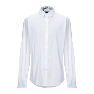 フランキー モレロ FRANKIE MORELLO シャツ ホワイト XS コットン 100% シャツ