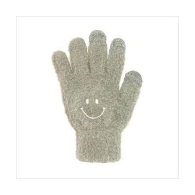 スマホ手袋 スマイル グレー 17318631046 (APIs)
