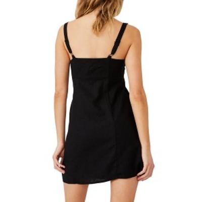 コットンオン レディース ワンピース トップス Woven Libby Strappy Mini Dress BLACK