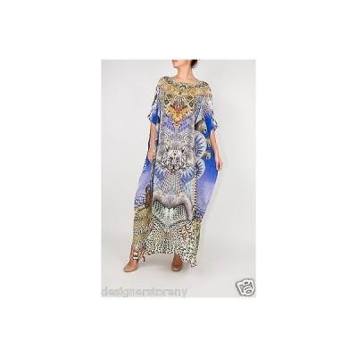 ドレス カミリアフランク Camilla Franks Shamanic By Nature Round Neck Kaftan Dress