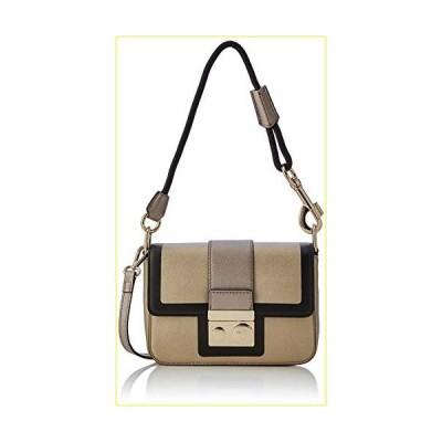 【新品・未使用品】Trussardi Jeans Women's with Love Ps Shoulder Seregraphy Messenger Bag, Multicolore (Gold/Bronze/Black), One Size【並行