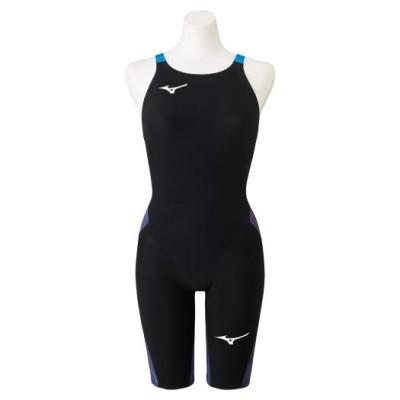 ミズノ 競泳用GX・SONIC NEO ハーフスーツ[レディース] 20オーロラブルー XS スイム 競泳水着 N2MG1205