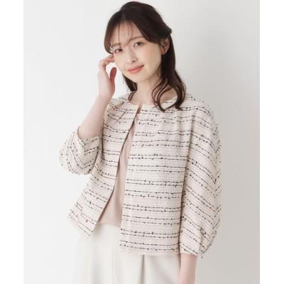 ORCHIDEA(オーキディア) 【LIZA(リザ)】ネップツイードジャケット