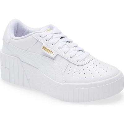 プーマ PUMA レディース スニーカー ウェッジソール シューズ・靴 Cali Wedge Sneaker Puma White Puma White