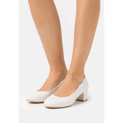 アンナフィールド ヒール レディース シューズ LEATHER COMFORT - Classic heels - white