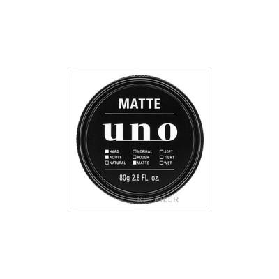 ♪ 資生堂 ウーノ マットエフェクター 80g <ヘアスタイリング・整髪料・ヘアワックス> <マットでドライな質感><uno・Shiseido>