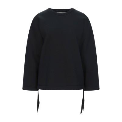 ステラ マッカートニー STELLA McCARTNEY スウェットシャツ ブラック 36 ポリエステル 100% スウェットシャツ