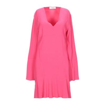 ジャッカ JUCCA ミニワンピース&ドレス フューシャ 38 レーヨン 99% / ポリウレタン 1% ミニワンピース&ドレス
