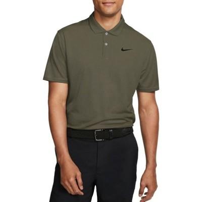ナイキ ポロシャツ トップス メンズ Nike Men's Dri-FIT Victory Golf Polo MediumOlive