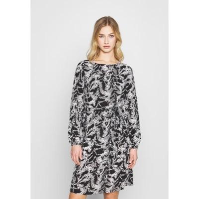 ヴィラ ワンピース レディース トップス VIDIANA LUCY DRESS - Day dress - black/white