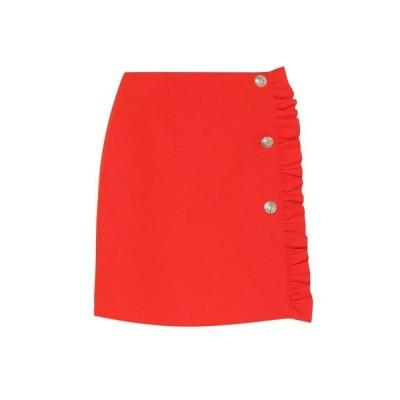 エムエスジーエム MSGM レディース ミニスカート スカート Crepe miniskirt Red