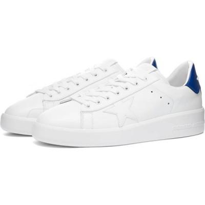 ゴールデン グース Golden Goose Deluxe Brand メンズ スニーカー シューズ・靴 golden goose pure star leather sneaker White/Bluette