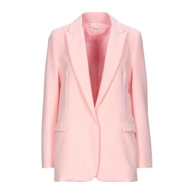 VICOLO テーラードジャケット ライトピンク M ポリエステル 93% / ポリウレタン 7% テーラードジャケット