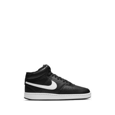 ナイキ レディース スニーカー シューズ Court Vision Mid Sneaker 001 BLACK/WHITE