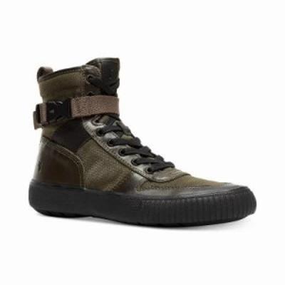 フライ スニーカー Combat Lace-Up Sneakers Olive Multi
