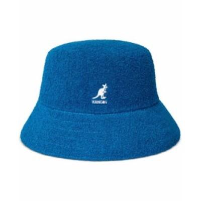 カンゴール メンズ 帽子 アクセサリー Men's Bermuda Terry Bouclé Bucket Hat Mykonos Blue