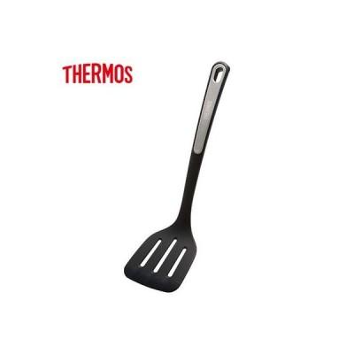 サーモス キッチンツールシリーズ ナイロンターナー KT-F001-BK ブラック THERMOS