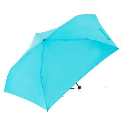ノーブランド No Brand ウルトラライトエコノミー 85g 折りたたみ傘 カーボン 軽量 (ブルー)