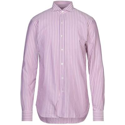 DOPPIAA シャツ モーブ 39 コットン 100% シャツ