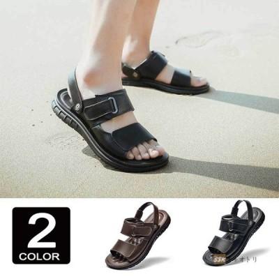厚底サンダル サンダル メンズ スポーツサンダル ビーチサンダル 靴 通気 厚底 アウトドア 歩きやすい 夏物