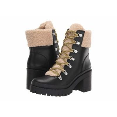 スティーブ マデン レディース ブーツ&レインブーツ シューズ Bundleup Winter Boot Black Leather