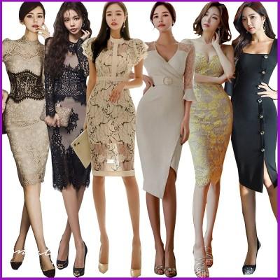 韓国ファッション高品質OL正式な場合礼装ドレスセクシーなワンピース一字肩二点セット側開深いVネックやせて見えるハイウエスト ドレス マキシ 夏服リネンワンピース