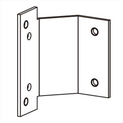 YKKAP  アウターシェード  枠付け用選択部品セット  雨戸付引違い窓 半外付/外付   妻戸なし 1枚仕