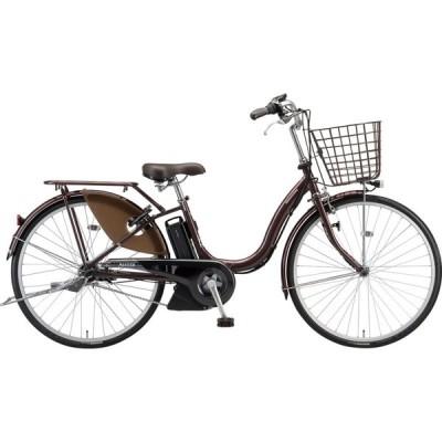 ブリヂストン 電動アシスト自転車 アシスタU STD A4SC11 F.Xカラメルブラウン
