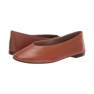 Aerosoles エアロソールズ レディース 女性用 シューズ 靴 フラット Front Runner - Dark Tan Leather