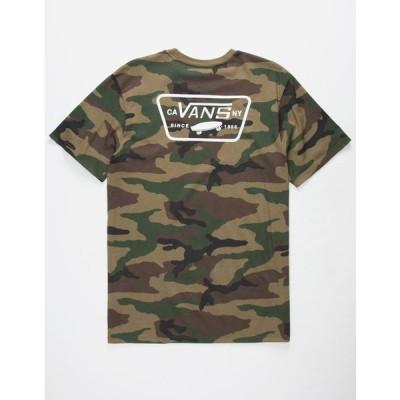 バンズ メンズ ティーシャツ VANS Full Patch Mens T-Shirt