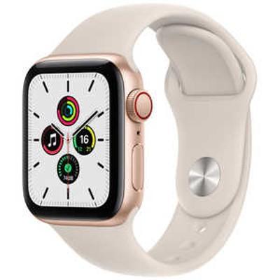 アップル Apple Watch SE(GPS + Cellular)40mmゴールドアルミニウム MKQX3JA