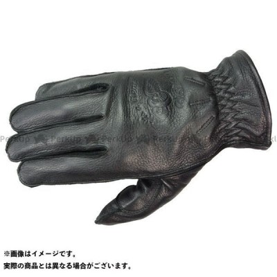 KNUCKLE HEAD レザーグローブ KnuckleHead Gloves VintageDeer カラー:ブラック サイズ:M 送料無料 ナッ…