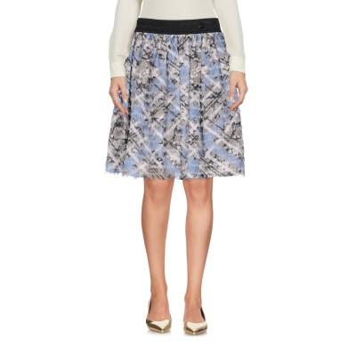 クラス ロベルト カヴァリ CAVALLI CLASS ひざ丈スカート ミリタリーグリーン 40 ポリエステル 100% ひざ丈スカート
