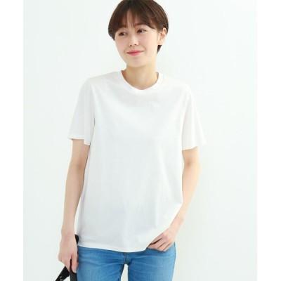 INDIVI(インディヴィ) クルーネックスムースTシャツ
