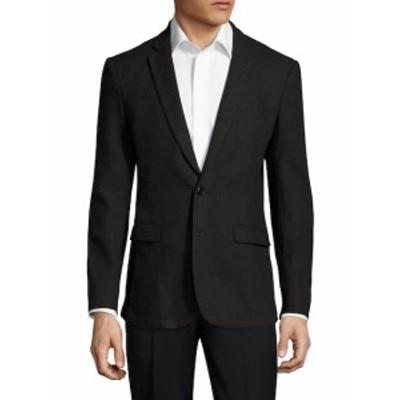 アスペット Men Clothing Solid Notch Lapel Sportcoat