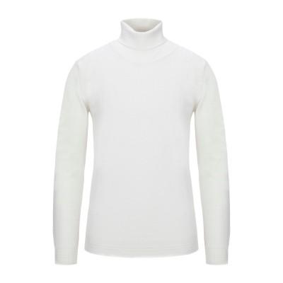 OFFICINA 36 タートルネック ホワイト XL ウール 50% / アクリル 50% タートルネック