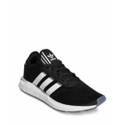 アディダス レディース スニーカー シューズ Women's Swift Run X Knit Low Top Sneakers Black/White