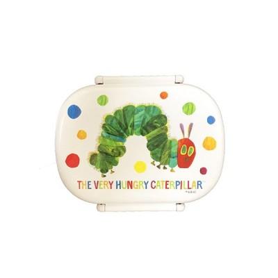 はらぺこあおむし ランチボックス (ドット) 14290 弁当箱 360ml コンパクト 幼稚園 遠足 はらぺこ あおむし キャラクター 雑貨 グッズ 食洗機対応