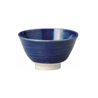 飯碗 和食器 / 楽釉ナマコ軽量茶碗 寸法:11.7 x 6.8cm
