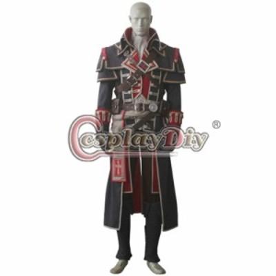 高品質 高級コスプレ衣装 アサシンクリード 風 シェイ・パトリック・コーマック タイプ Assassins Creed Rogue Shay Patrick Cormac